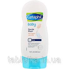 Cetaphil, Baby, деликатное очищающее средство, 230мл