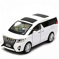 Машинка ігрова автопром «Toyota» метал, біла, 20 см, (світло, звук, двері відкриваються) 7685, фото 4