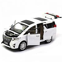 Машинка ігрова автопром «Toyota» метал, біла, 20 см, (світло, звук, двері відкриваються) 7685, фото 7