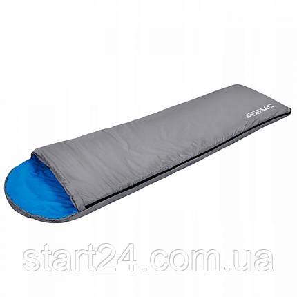 Спальный мешок SportVida SV-CC0014 Grey/Blue, фото 2