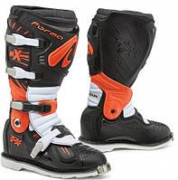 Мотоботы кроссовые Forma Terrain TX черный / оранжевый / белый, 45