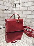 Жіноча сумочка комбінована нат.замша/кожзам 2042-1 без бренду, фото 6