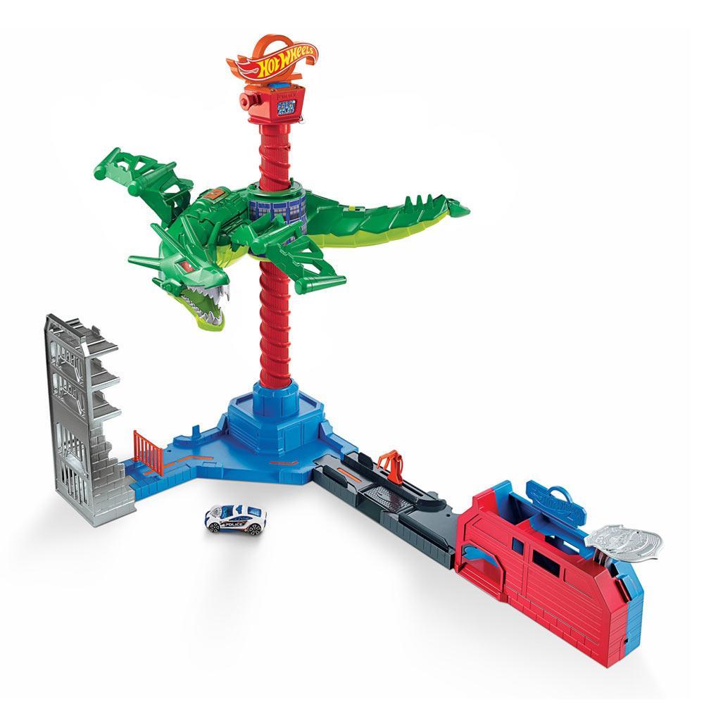 """Игровой набор """"Воздушная атака дракона"""" Hot Wheels GJL13"""