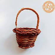 Кукольная плетеная корзинка, фото 2