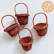 Кукольная плетеная корзинка, фото 3