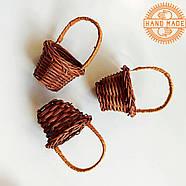 Кукольная плетеная корзинка, фото 4