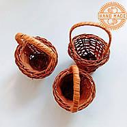 Кукольная плетеная корзинка, фото 5