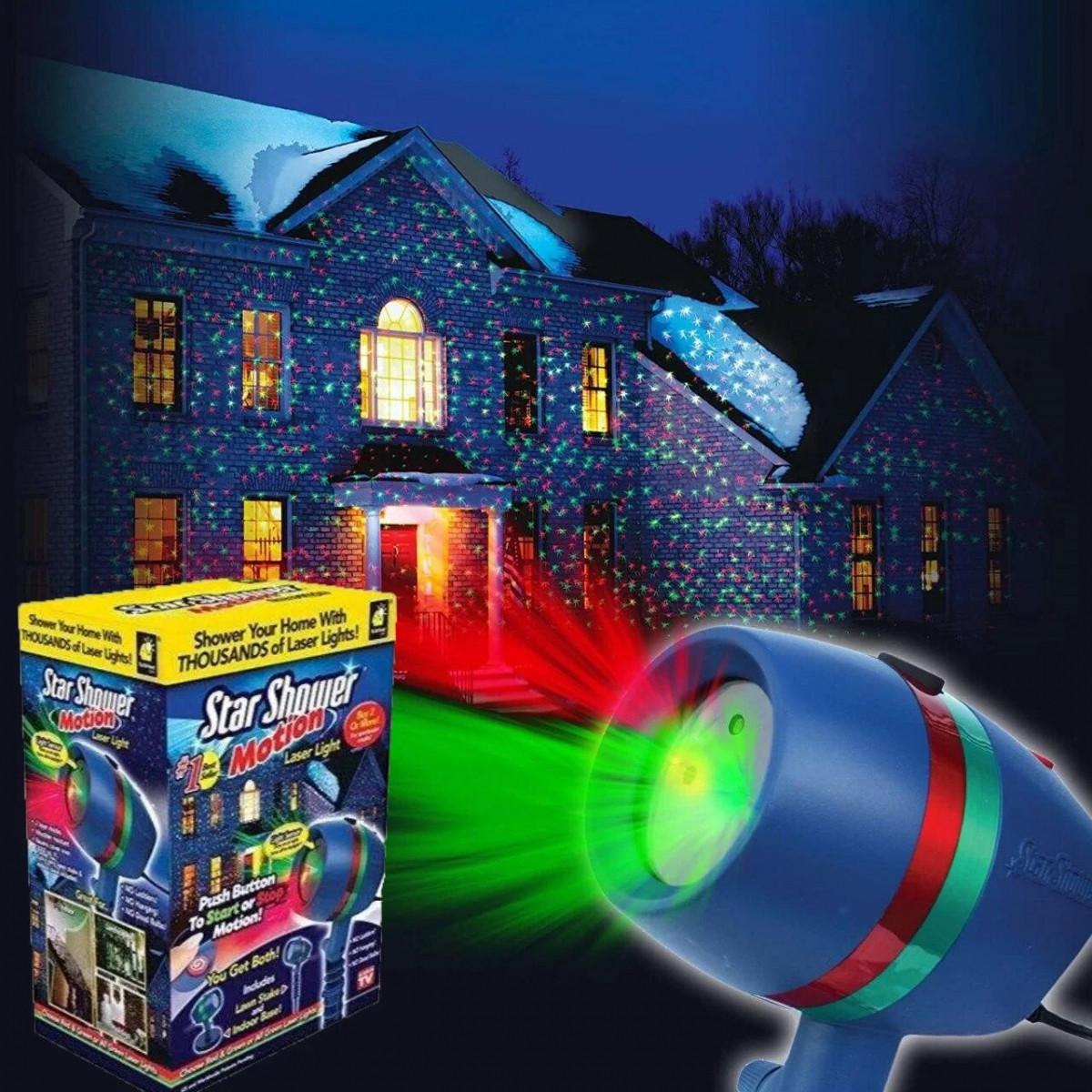 Лазерный уличный проектор Star Shower Motion