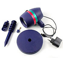 Лазерний вуличний проектор Star Shower Motion, фото 2