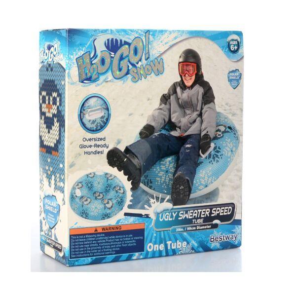 Cани-тюбинг H2OGO Bestway 39059E 99 см, морозоустойчивый ПВХ