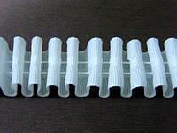 Тесьма (лента) шторная х/б 2 см  (на отрез) Равномерная сборка
