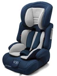 Детское автокресло с анатомической подушкой Kinderkraft comfort up 9-36 кг navy