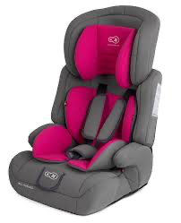 Детское автокресло с анатомической подушкой Kinderkraft comfort up 9-36 кг pink