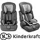 Детское автокресло с анатомической подушкой Kinderkraft comfort up 9-36 кг pink, фото 7