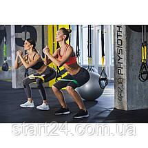 Резинка для фитнеса и спорта (лента-эспандер) 4FIZJO Mini Power Band 0.4 мм 1-3 кг 4FJ0009, фото 3