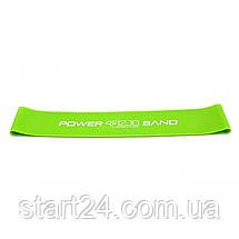 Резинка для фитнеса и спорта (лента-эспандер) 4FIZJO Mini Power Band 1 мм 10-15 кг 4FJ0012, фото 2