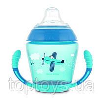 Кружка непроливайка Canpol Babies блакитна (56/502_blu)