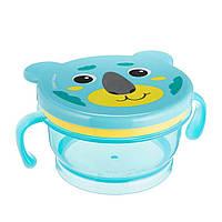 Контейнер для їжі Canpol Babies HELLO LITTLE бірюзовий (51/008_tur)