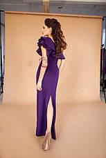 Платье в пол дайвинг , фото 2