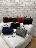 Женская сумочка комбинированная нат.замша/кожзам 2042-1 Kors, фото 4