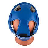 Боксерський шолом турнірний PowerPlay 3084 S синій, фото 5