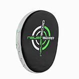 Боксерські Лапи PowerPlay 3073 чорно-зелені PU [пара], фото 2