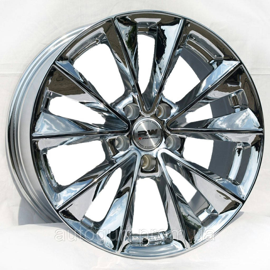 Racing Wheels H-393 8x18 5x112 ET 37 Dia 73,1 (хром)