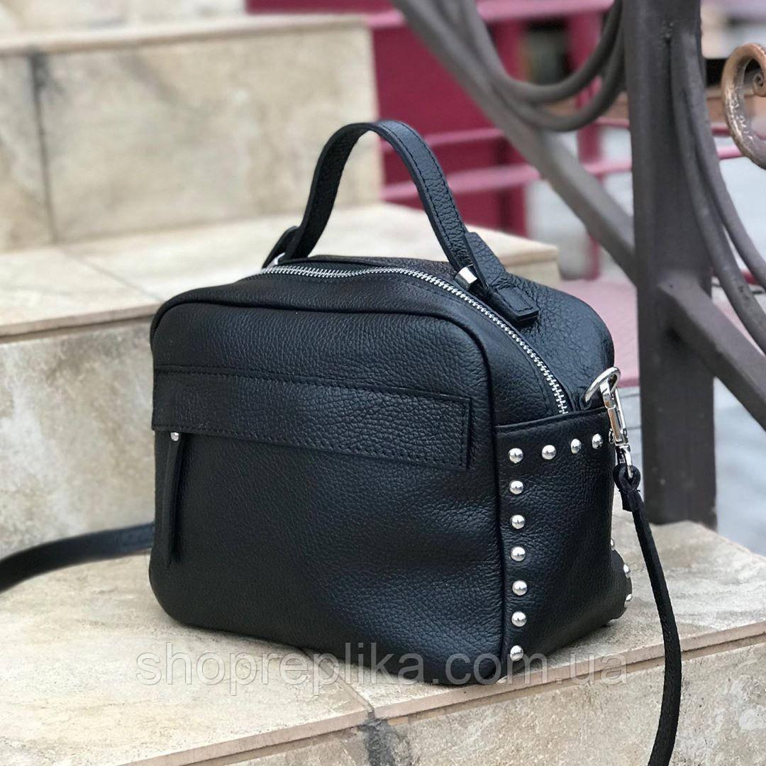 Кожаная сумка женская кросс боди Италия  женская кожаная сумка на длинной ручке df2652A10