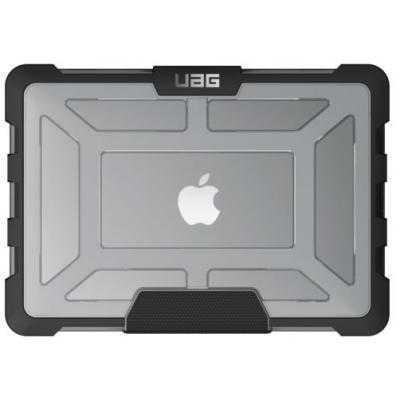 """Чехол для ноутбука UAG Plasma Ice Macbook Pro 13""""  (2016-2020)  (MBP13-4G-L-IC) противоударний, прозорий"""