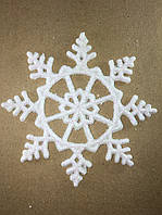 Новогодняя игрушка (снежинка 9см)
