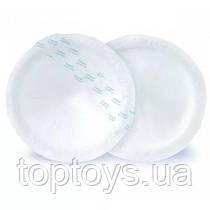 Лактаційні прокладки Canpol Babies з самоклейною стрічкою 40 шт (1/651)