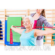Лента-эспандер для спорта и реабилитации 4FIZJO Flat Band 30 м 1-2 кг 4FJ0101, фото 2