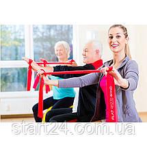 Лента-эспандер для спорта и реабилитации 4FIZJO Flat Band 30 м 1-2 кг 4FJ0101, фото 3