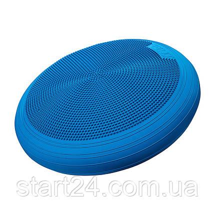 Балансировочная подушка (сенсомоторная) массажная 4FIZJO XXL MED+ 4FJ0130 Blue, фото 2