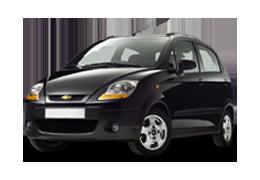 Коврики в салон для Chevrolet (Шевроле) Spark 2 2005-2008