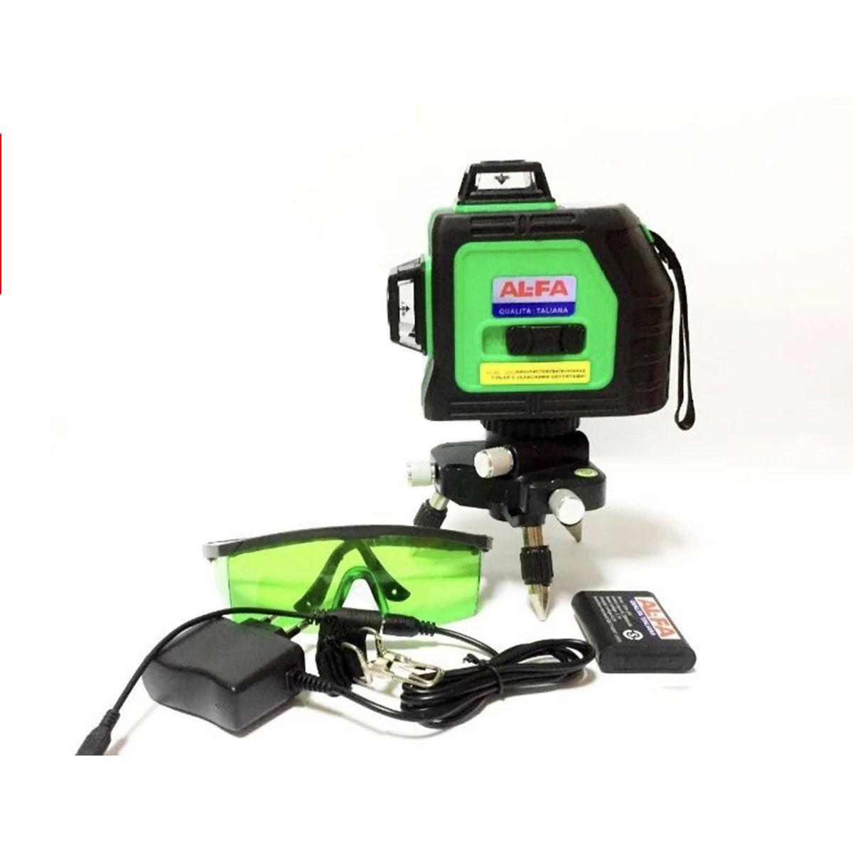 3D Лазерный уровень, нивелир AL-FA ALNL-3DG