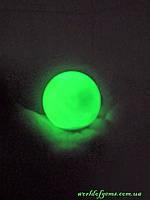Светящийся шар из натурального камня