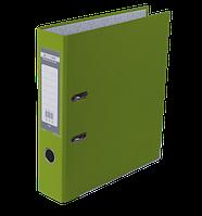 Папка-регистратор односторонняя LUX, JOBMAX, А4, ширина торца 70 мм, светло-зеленая