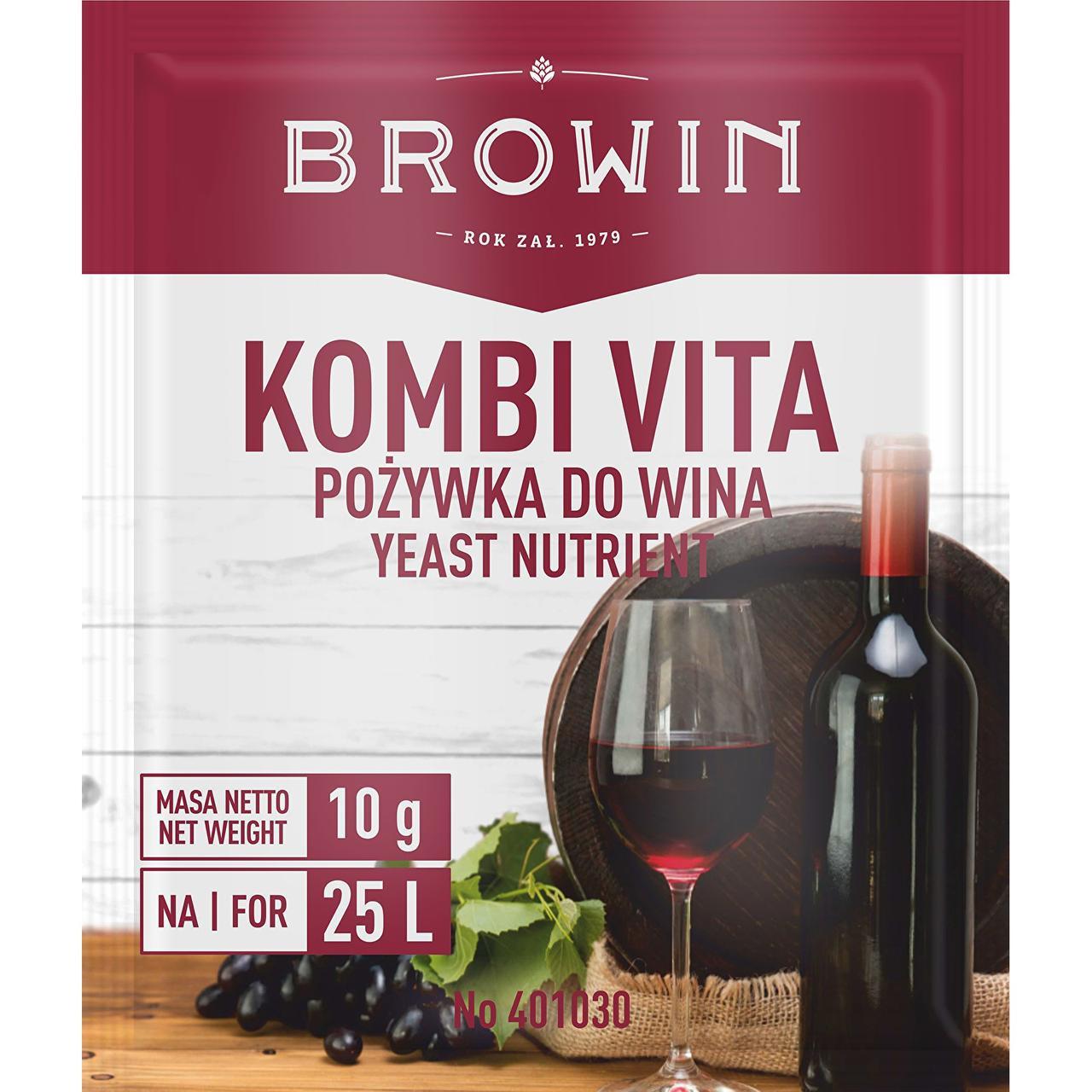 Питательная среда для вина Комби Вита, BROWIN Польша Термін придатності до 01.2021