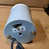 7705 LED Тахометр виличний діаметр 52мм., фото 2