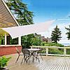Тент-парус теневой для дома, сада и туризма Springos 4 x 3 м SN1035 Grey, фото 4