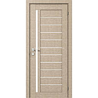 Міжкімнатні двері Modern Bianca крем полустекло сатин РОДОС