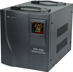 Стабілізатор напруги LUXEON EDR-3000 + --