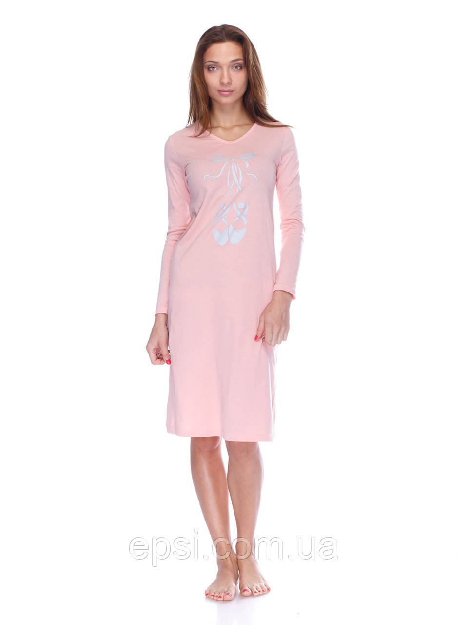 Сорочка Aniele 5330(Б5135) S Персик Пуанты