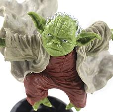 Мастер Йода с мечом со Звёздных Войн. Рыцарь Джедай боевая версия, фигурка ПВХ 15 см. Star Wars Master Yoda., фото 2