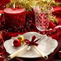 Посуда с Новогодней тематикой