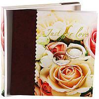 Фотоальбом Love 9840 20листов 32x33см 20 Sheet Love Rings в подарочной упаковке самоклеющиеся листы