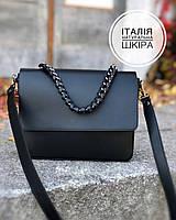 Женские сумки из кожи Италия Вера Пелле  Итальянская сумка через плечо кроссбоди  df265f3, фото 1