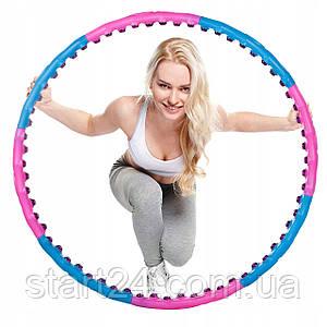 Обруч массажный с магнитами Springos Hula Hoop 100 см FA0095