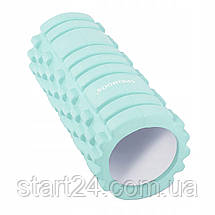 Массажный ролик (валик, роллер) Springos 33 x 14 см FR0016 Mint, фото 3